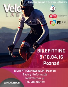 Plakat dla FTI poznan kwiecien 2016
