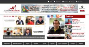 zrzut ekranu akademia zawodnika @ akademia triatlonu